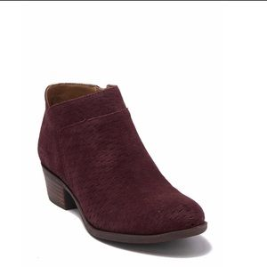 Lucky Brand Brintly Perforated Ankle Bootie Size 8